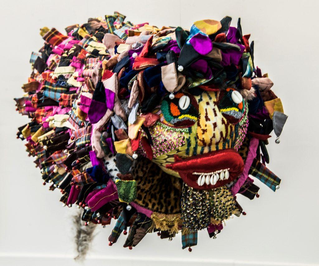 Dragon Volant, sculpture textile de Myrtille Béal